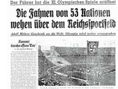 Olympia 1936 Die Spiele Der Propaganda Berliner Morgenpost