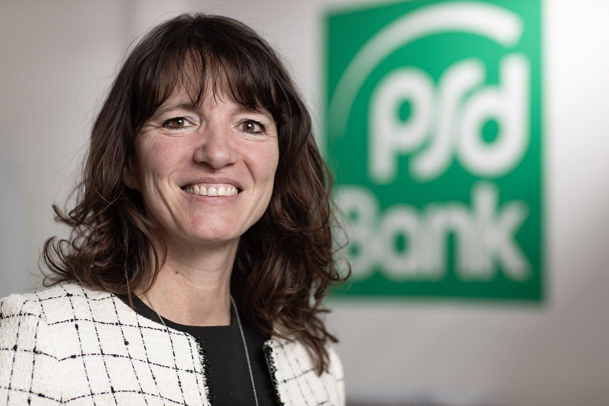 Grit Westermann ist Vorstandssprecherin der PSD Bank