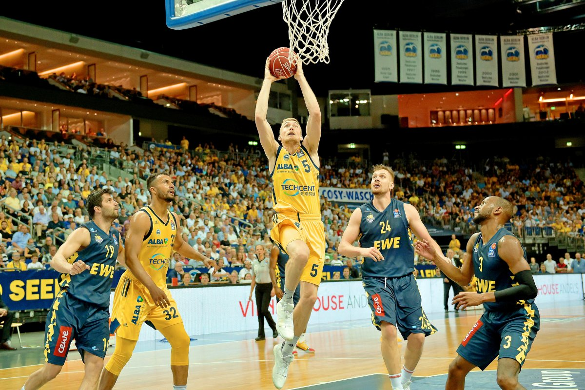 Basketball-Pokalfinale: So löst Alba Berlin das Hallen-Problem