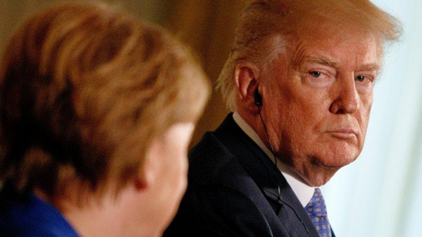 Donald Trump: Nichte meint, Merkel ist schlauer - Er