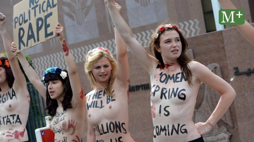 nackt agyptischen protest
