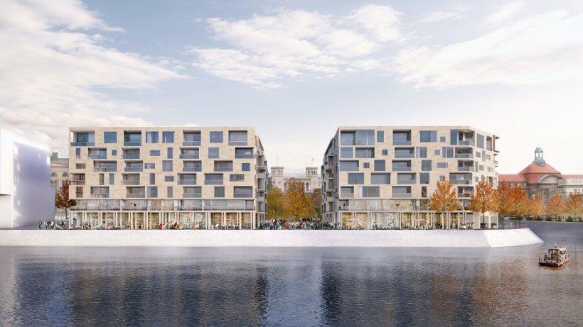 am humboldthafen entstehen 250 wohnungen direkt am wasser berlin aktuell berliner morgenpost. Black Bedroom Furniture Sets. Home Design Ideas
