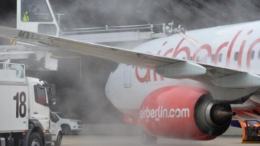 Air Berlin bekommt seine Maschinen besser gefüllt