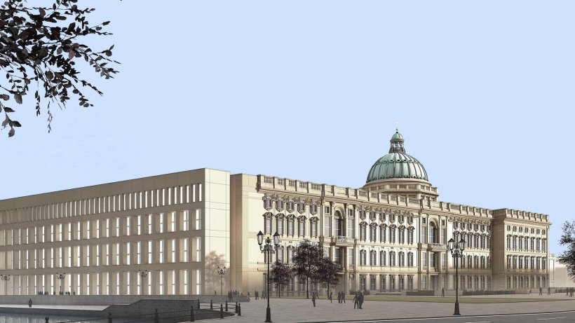 erbitterter fl gelkampf um das berliner stadtschloss berlin aktuell berliner morgenpost. Black Bedroom Furniture Sets. Home Design Ideas