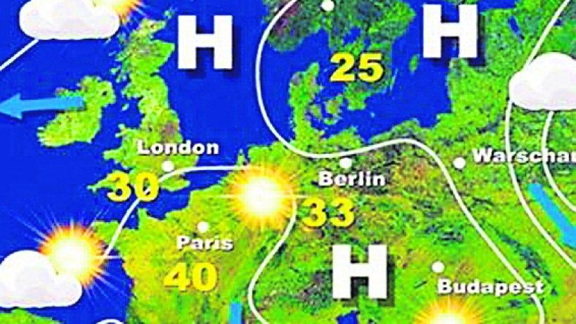 Wetterkarte Live