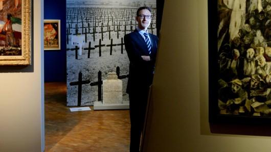 Schrecken ohne Ende: Alexander Koch, der Direktor des DHM, ist skeptisch, ob aus der Geschichte wirklich Lehren gezogen werden können