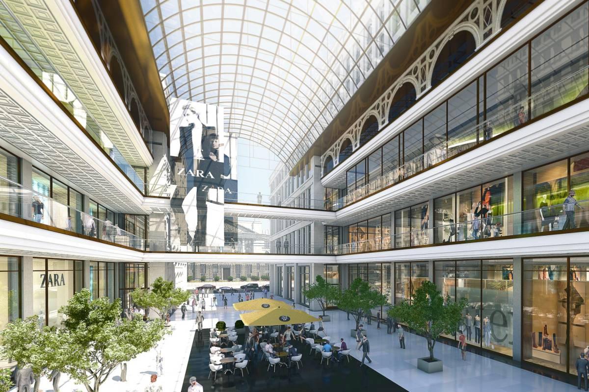 So Sieht Die Mall Of Berlin Am Leipziger Platz Aus Berlin