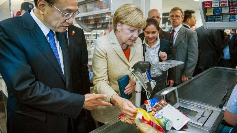 Merkel Einkauf