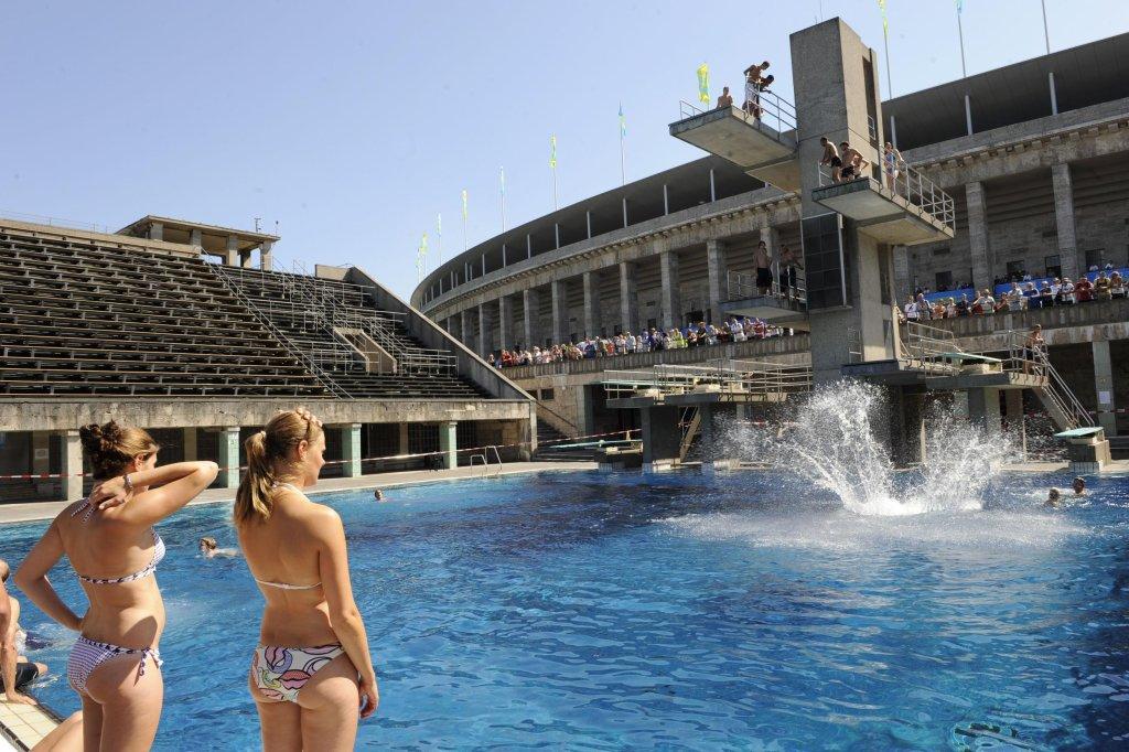 Charming Sommerbad Olympiastadion   Lage, Preise, Öffnungszeiten   Berlin Aktuell    Berliner Morgenpost