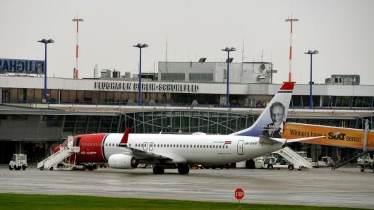 Das Flughafenterminal in Berlin-Schönefeld