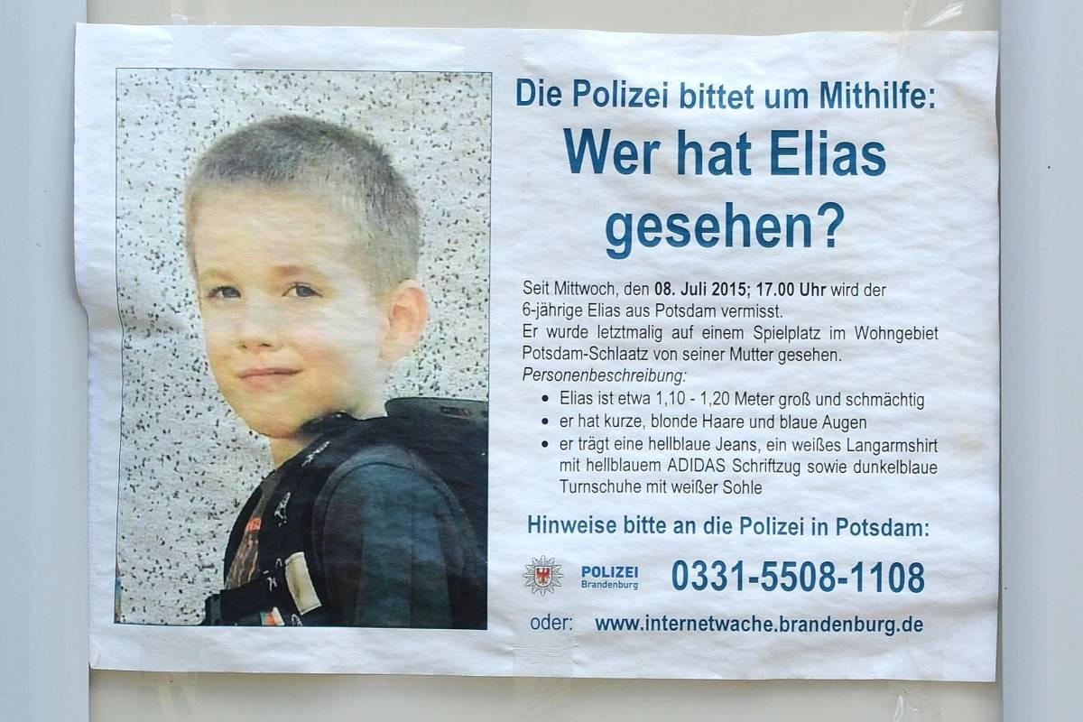 Vermisster Elias Soko Gerät In Die Kritik Brandenburg Aktuelle