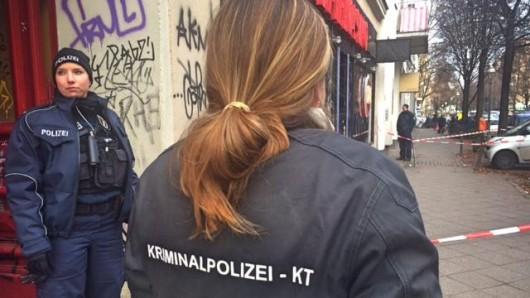 Die Polizei hat das Kasino an der Schönleinstraße abgesperrt