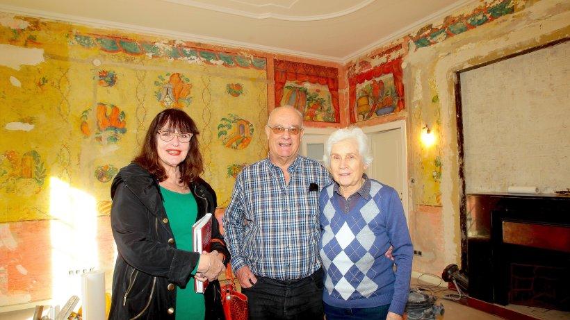 Familie entdeckt expressionistische wandmalerei in villa steglitz zehlendorf berliner morgenpost - Wandmalerei berlin ...