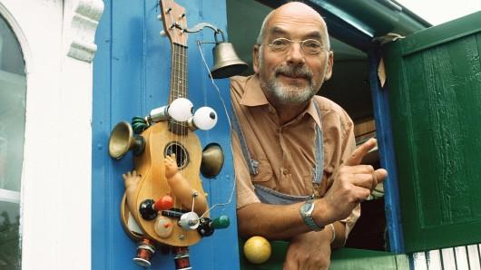 So liebten ihn die Kinder: Peter Lustig im Löwenzahn-Bauwagen
