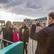 Touristen-Boom in der Hauptstadt: Sehenswürdigkeiten wie das Brandenburger Tor locken auch Ostern viele Gäste an
