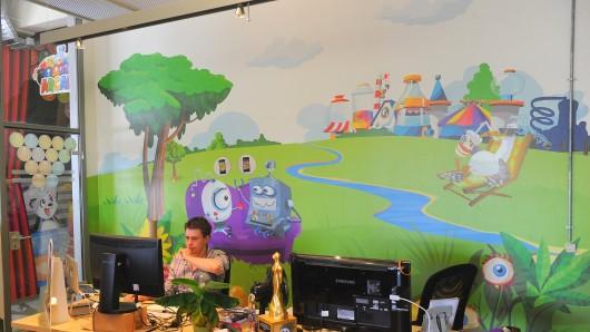 Das Spielesoftwareunternehmens Wooga GmbH arbeitet beschäftigt in Berlin inzwischen 300 Mitarbeiter aus 40 Ländern