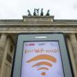 190 der geplanten 650 Hotspots können in Berlin genutzt werden.