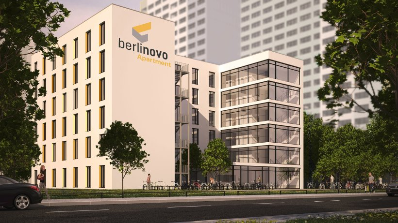 berlinovo baut erstes wohnheim f r studenten berlin. Black Bedroom Furniture Sets. Home Design Ideas