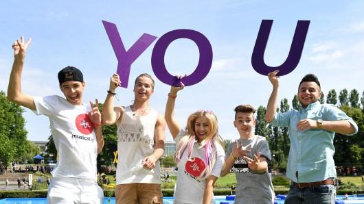 Youtuber treffen, Trends  erleben: Die Jugendmesse You ist bis Sonntag geöffnet.