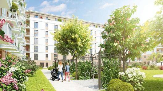 Knapp 120 Eigentumswohnungen entstehen im Park Carré