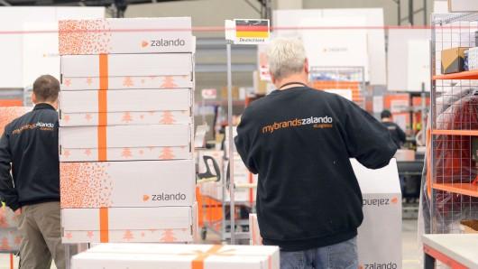 Zalando-Versandzentrum in Erfurt