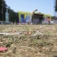 Der Rasen im Treptower Park wurde erkennbar belastet