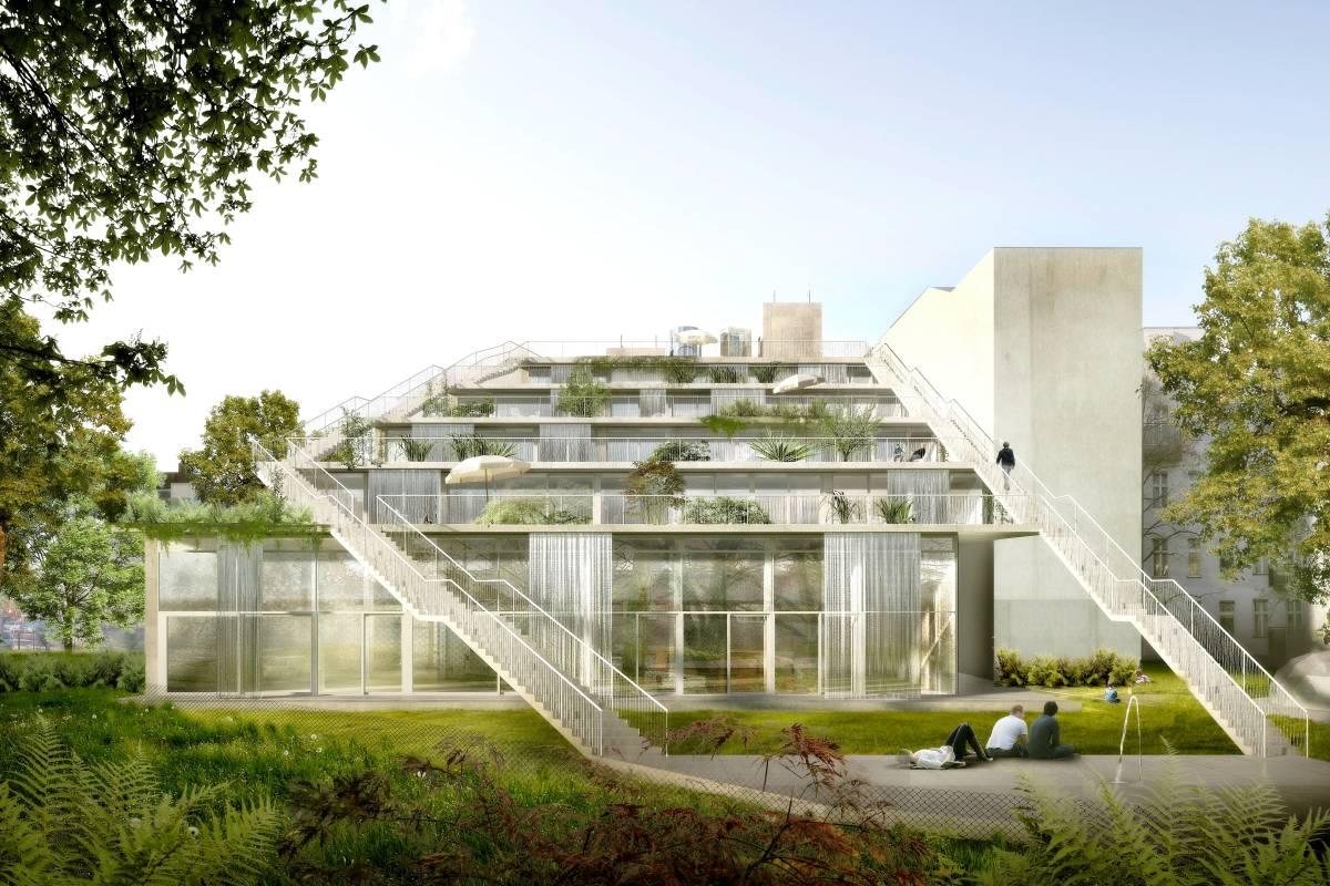 Ein Atelierhaus Mit Wassergardinen In Wedding Mitte Berliner