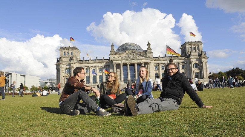 So feiert Berlin die Einheit