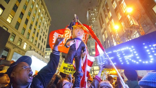 Proteste gegen Donald Trump in New York