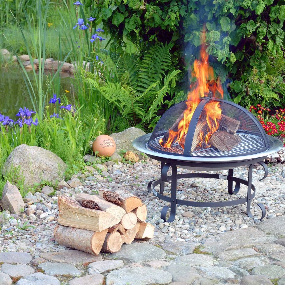 Wohneigentum Ist Offenes Feuer Im Garten Erlaubt Berliner Morgenpost
