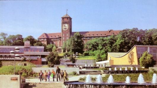 Terrassenrestaurant Minsk und das Brauhausberg in Potsdam im Wandel der Zeit