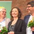 Freude bei den neuen grünen Senaroren Regine Günther, Ramona Pop und Dirk Behrendt (v.l.)