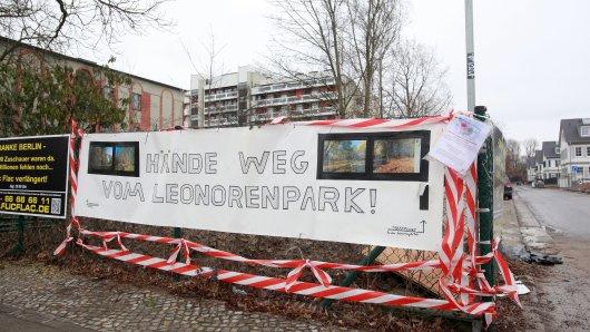 200 Bäume sollen im Park gefällt werden