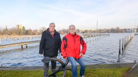 Spandauer Yachtclub - Jürgen Lucht (li.) und Detlef Buchwald