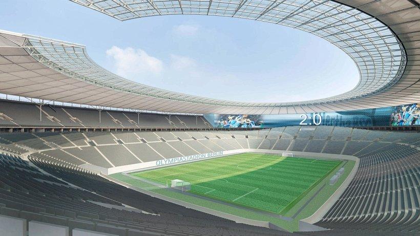 Olympiastadion Umbau