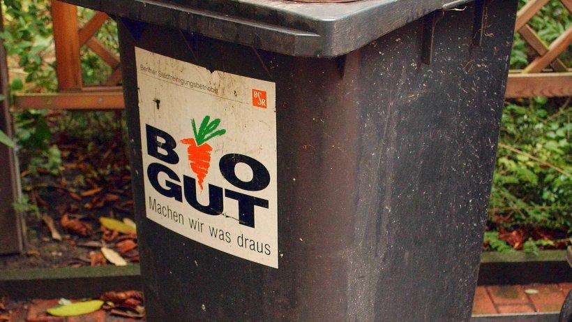 bsr soll mehr biom u00fcll sammeln