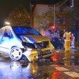 Der Fahrer des Mercedes flüchtete zu Fuß vom Unfallort