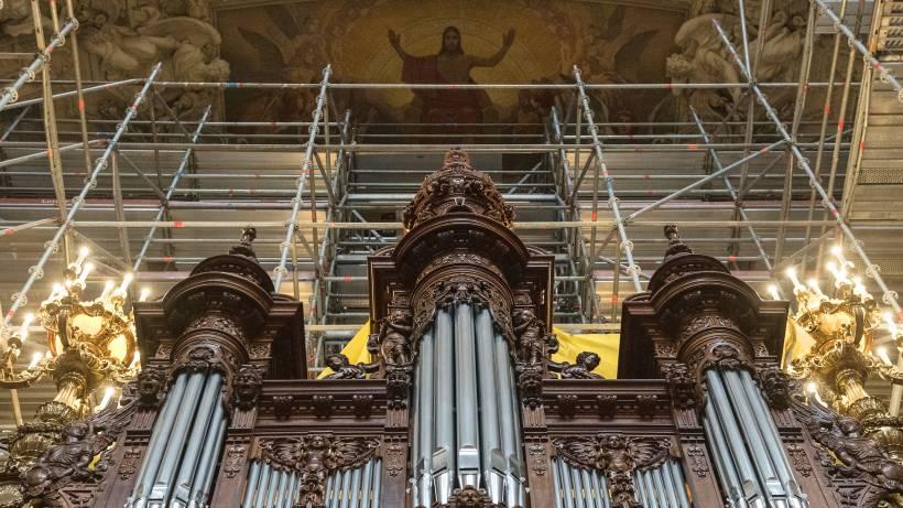 100 000 Mitte Euro Berliner Wird Orgel Gereinigt Im Dom Für QxhrtdsC