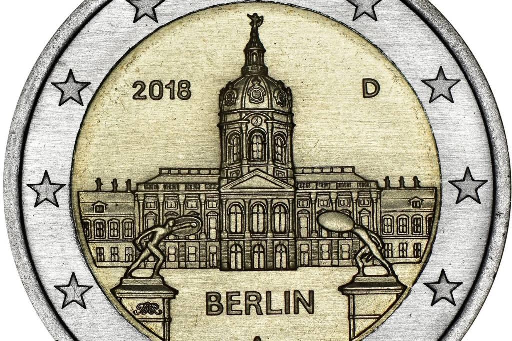 Charlottenburger Schloss Kommt Auf Zwei Euro Stück Berlin