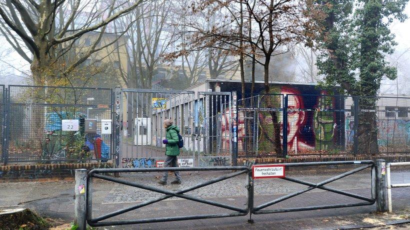 Ehemals besetzte Schule wird Obdachlosenunterkunft