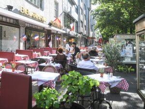 Strenge Regeln gelten für die Brasserie Paris am Kurfürstendamm