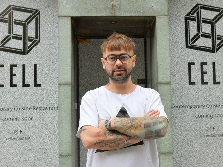 """Evgeny Vikentev setzt in seinem neuen Restaurant """"Cel"""" auf lokale Produkte. Am 22. Oktober öffnet das Lokal in der Uhlandstraße in Charlottenburg"""