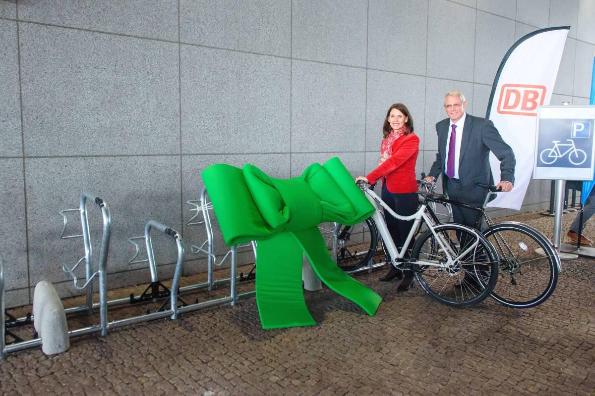 Erste Fahrrad Abstellanlage Am Berliner Hauptbahnhof Berliner Morgenpost