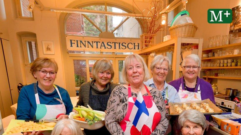 Gemeinsam kochen, gemeinsam essen bei den Finnen