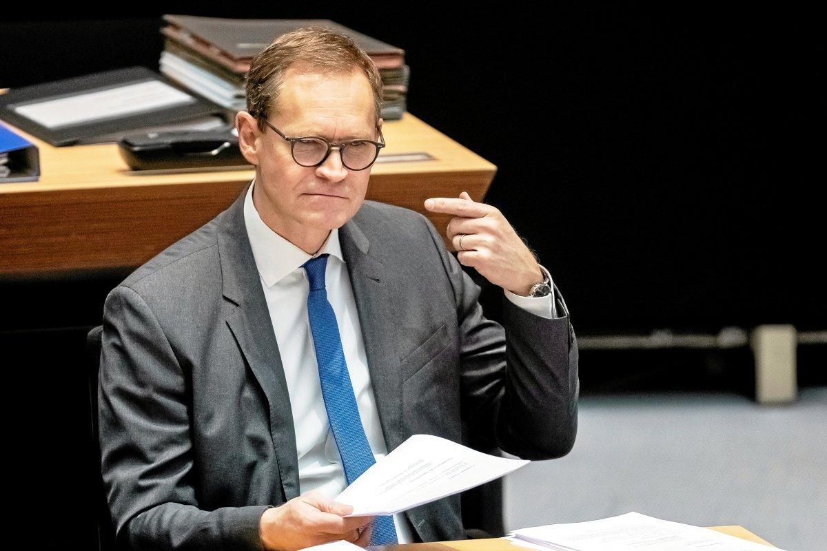 Michael Müller - Kein Landeschef ist so unbeliebt wie Berlins Regierender Bürgermeister