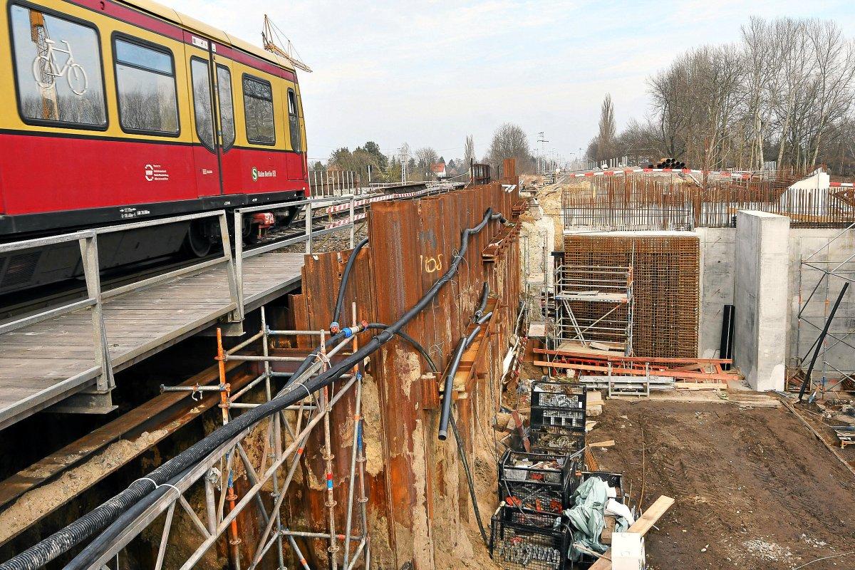 S-Bahn Berlin - Sperrungen auf den Linien S3, S5, S7, S8, S9, S75 wegen Bauarbeiten