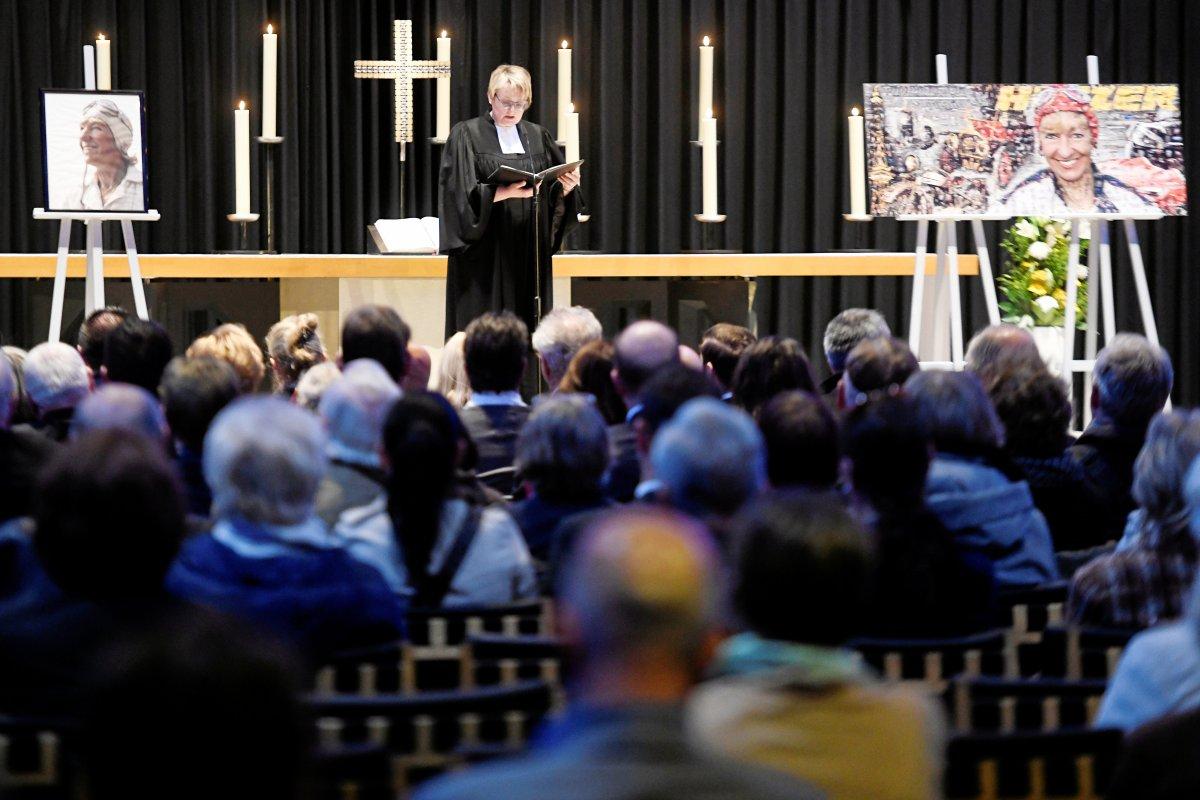 Heidi Hetzer: Berlin nimmt auf Trauerfeier Abschied von der Rallyefahrerin