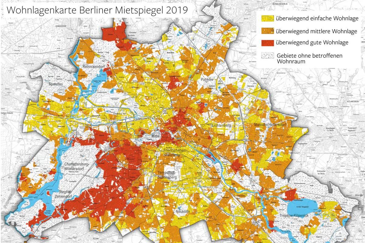 Mietspiegel 2019 In Berlin Mieten Steigen Aber Nicht Mehr So