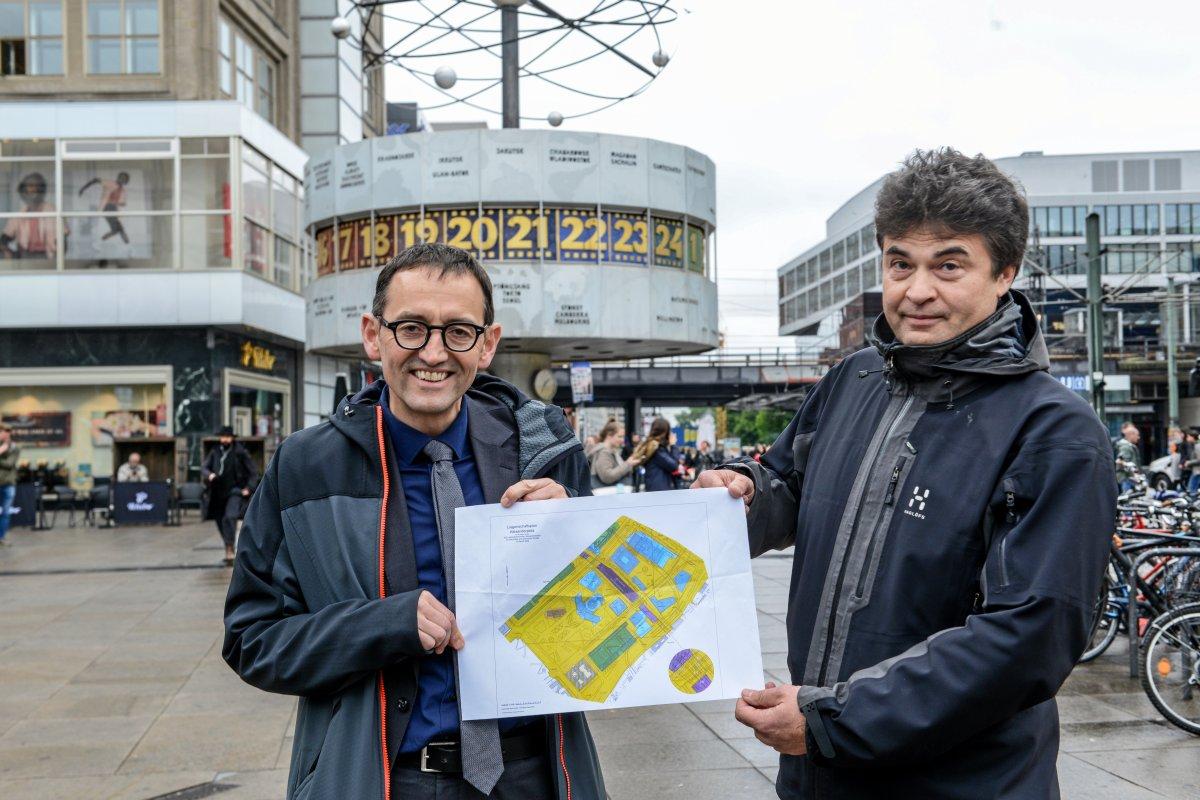 Alexanderplatz Berlin - Was alles besser werden soll