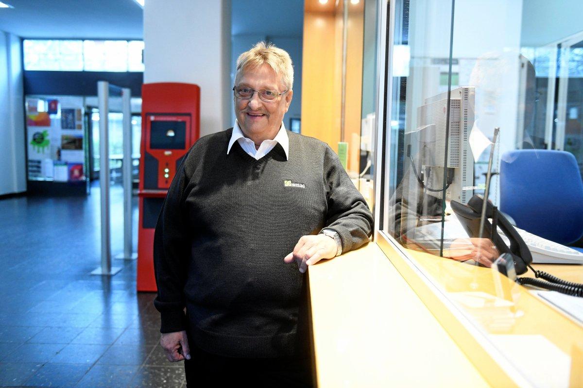 Pförtner Thomas Bintig ist die gute Seele der UdK